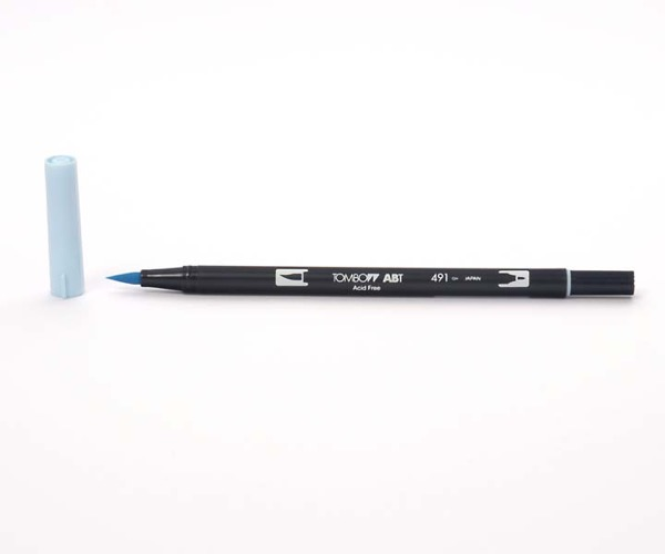 Tombow Dual Brush Pen - Glacier Blue - Gletscher Blau