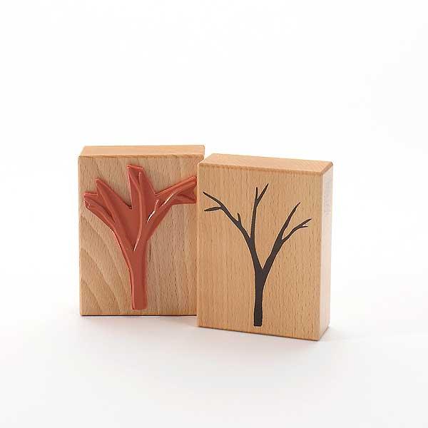 Motivstempel Titel: Baum mit ohne Blätter