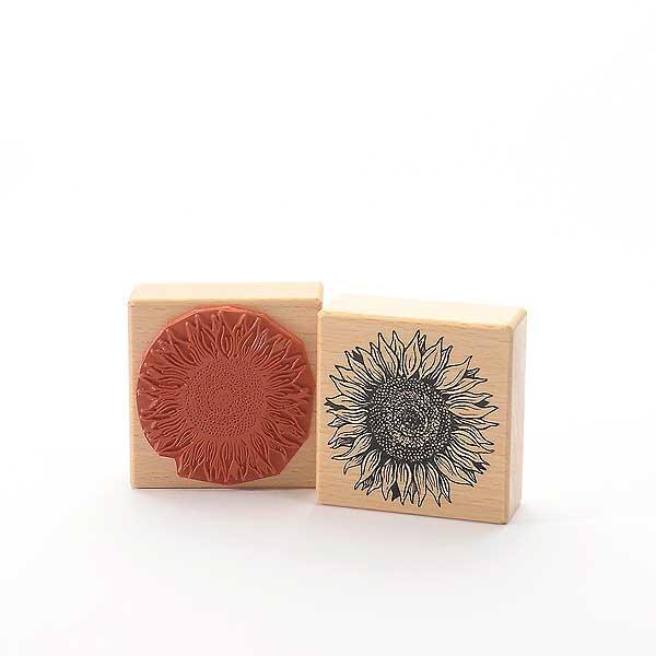 Motivstempel Titel: Sonnenblumenblüte