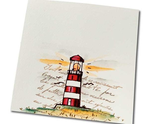 Grüße vom Leuchtturm