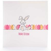 Osterhasi mit Eiern