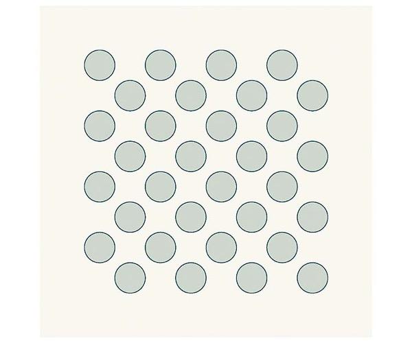 Grafische Schablonen - Dicke Punkte