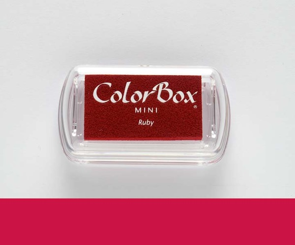 Mini ColorBox · Ruby - Rubinrot