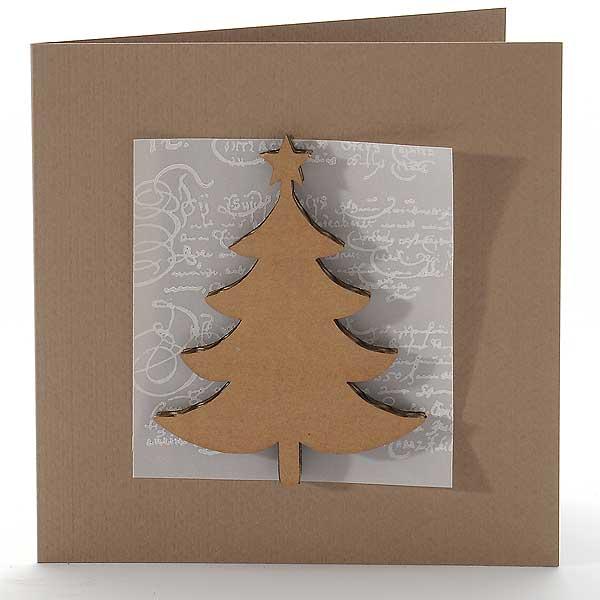 von Pappe - Weihnachtsbaum