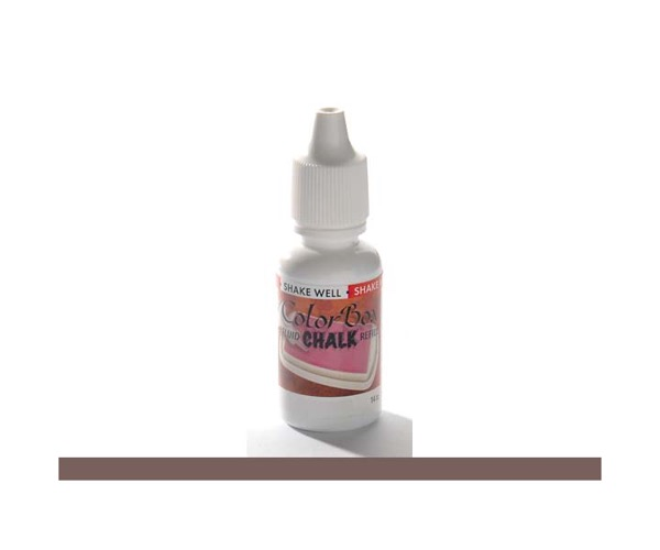 ColorBox Chalk Stempelkissen Nachfüllfarbe - Dark Brown - Dunkelbraun