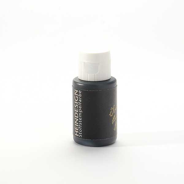 Stoffstempelfarbe - Schwarz