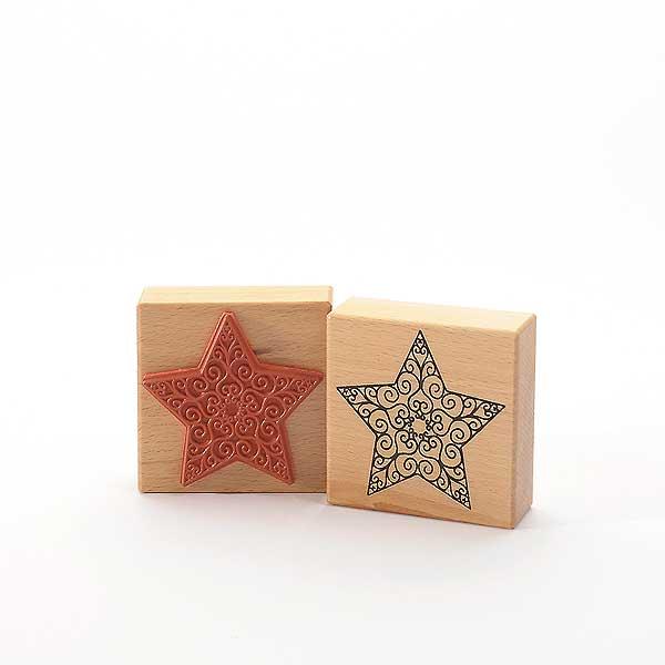 Motivstempel Titel: Stern mit Kringel
