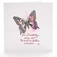 Wer Schmetterlinge ...