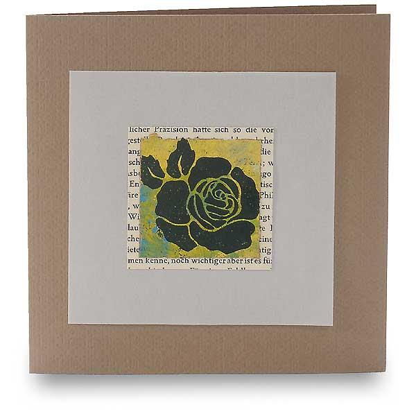 eine rose ist eine rose rote braune karten ideen kreatives heindesign. Black Bedroom Furniture Sets. Home Design Ideas