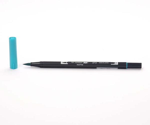 Tombow Dual Brush Pen - Sea Blue - Meeresblau