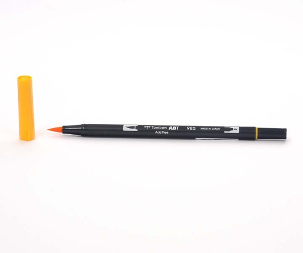 Tombow Dual Brush Pen - Chrome Yellow - Chrome Gelb