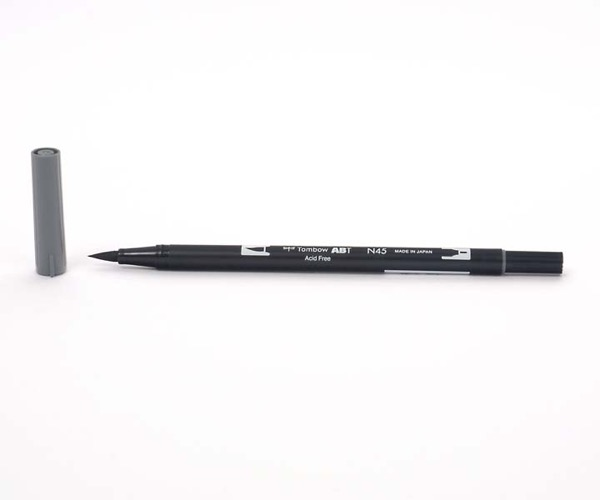 Tombow Dual Brush Pen - Cool Gray 10 - Grauton kalt 10