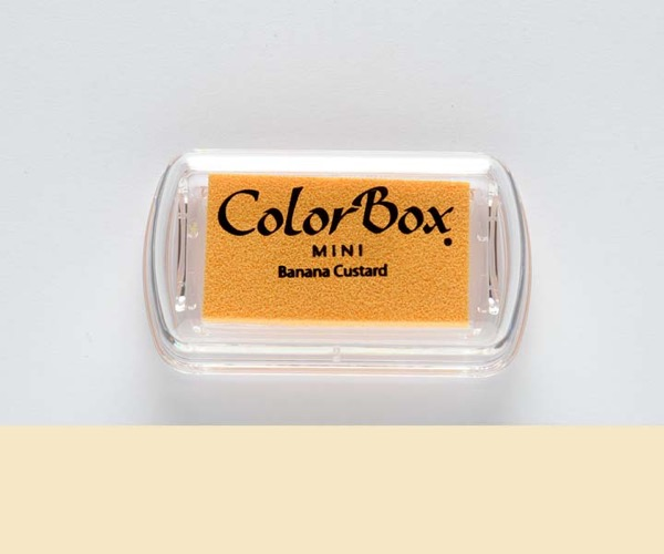 Mini ColorBox · Banana Custard - Banane