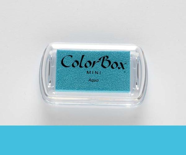 Mini ColorBox · Aqua - Aqua Blau