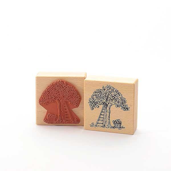 Motivstempel Titel: Tina - Appelträd - Apfelbaum