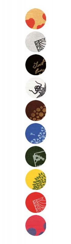 Beispiele für Farben und Muster - Stoffstempelfarbe