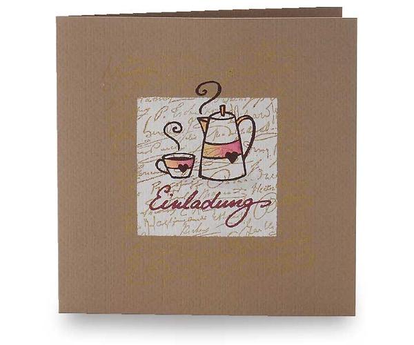 Einladung zum Kaffeeklatsch ...