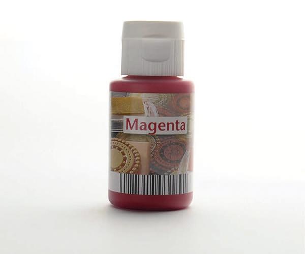 Acryl zum Stempeln · Magenta