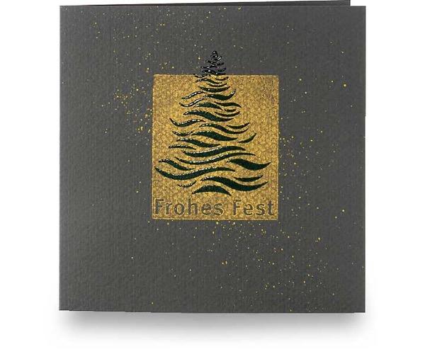 abstrakter weihnachtsbaum gr ne karten ideen kreatives heindesign. Black Bedroom Furniture Sets. Home Design Ideas
