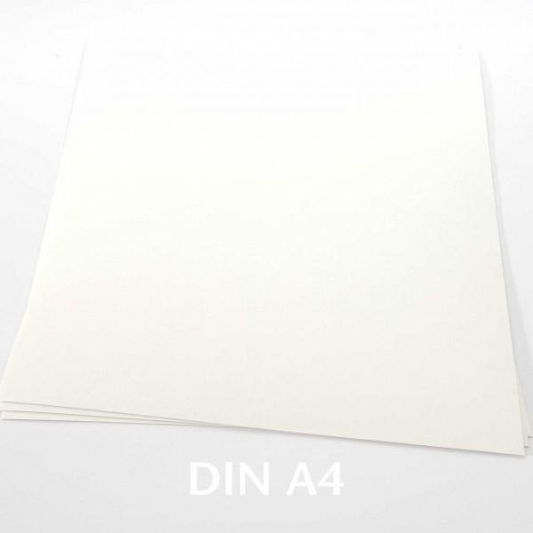 Amadeo Karten schön Weiß DIN A4