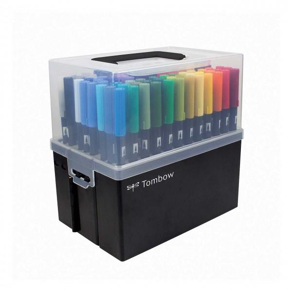 ABT Dual Brush Pens, Stiftebox mit 107 Farben + Blender
