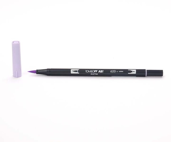 Tombow Dual Brush Pen - Lilac - Flieder