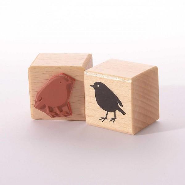 Motivstempel Titel: Kleiner Vogel