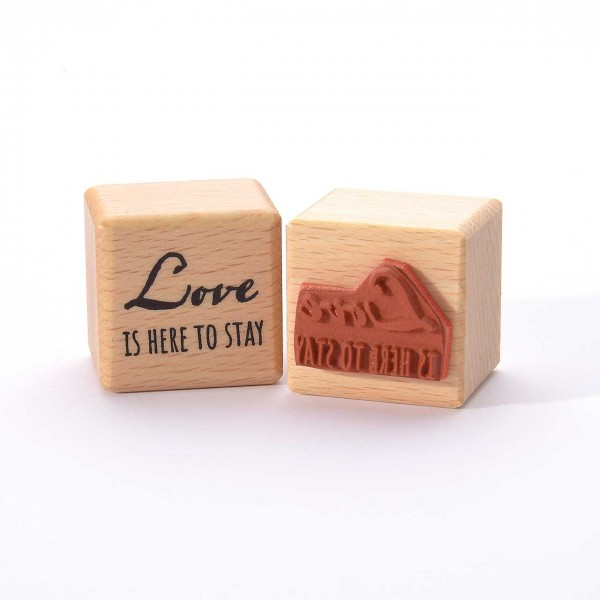 Motivstempel Titel: Love is here to stay