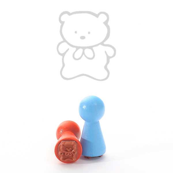 Motivstempel Titel: Ministempel Teddy von Judi-kins