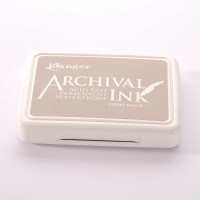 Ranger Archival Ink Stempelkissen - Pebble Beach · Sand
