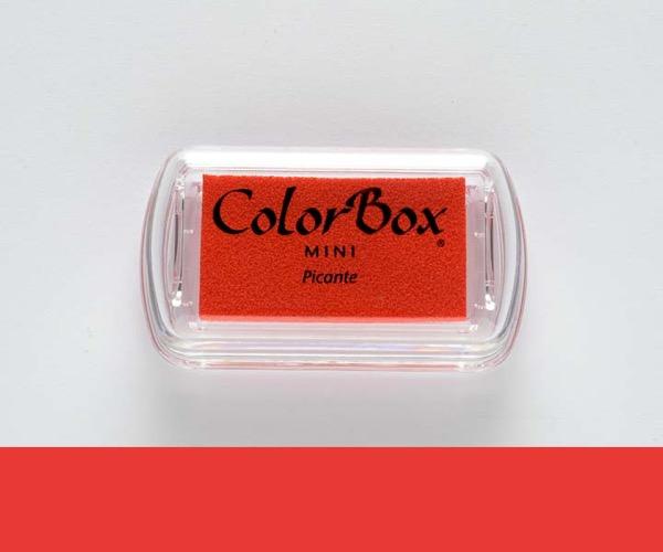 Mini ColorBox · Picante - Scharfes Rot