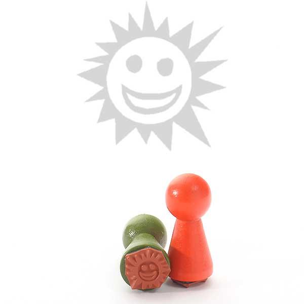 Motivstempel Titel: Ministempel Sonne