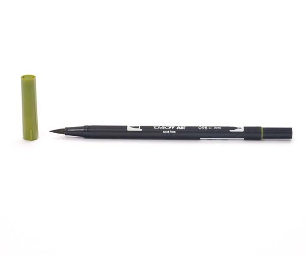 Tombow Dual Brush Pen - Avocado - Avocado