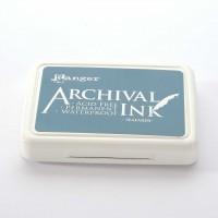 Ranger Archival Ink Stempelkissen - Seafarer · Meeresblau