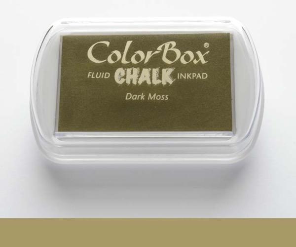 ColorBox Chalk · Dark Moss - Kreide Moosgrün