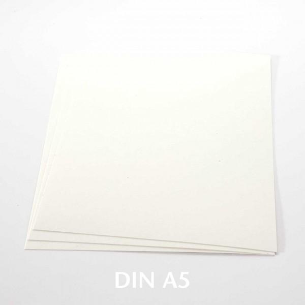 Amadeo Karten schön Weiß DIN A5